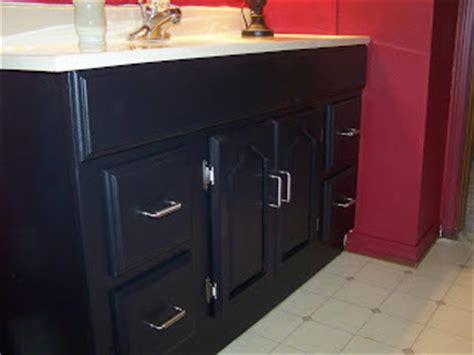 painting bathroom cabinets black some of my favorite things boys bathroom black cabinet