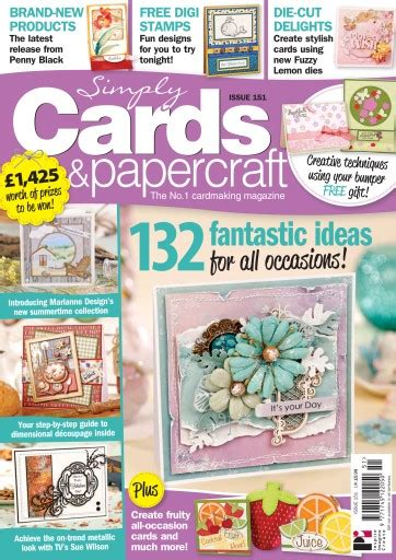 Simply Cards And Papercraft Magazine - simply cards papercraft magazine 151 subscriptions