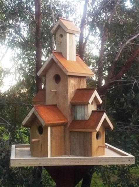 17 best images about birdhouses large rusty roof for