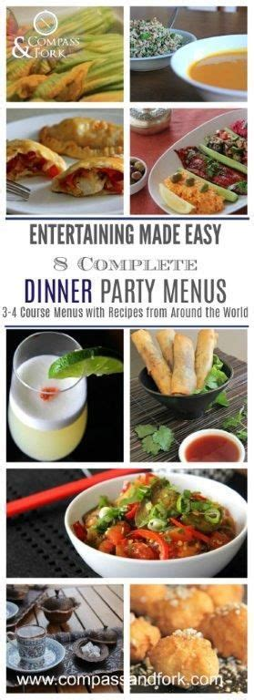 1000 ideas about easy dinner party menu on pinterest