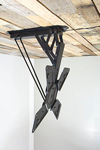 Vivo Electric Motorized Flip Down Pitched Roof Ceiling Tv Ceiling Mount Tv Flip