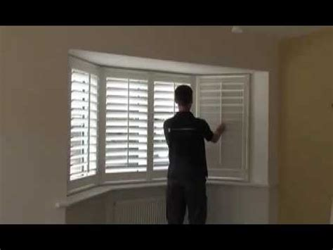 Bow Window Designs measuring a upvc bay window for diy shutters youtube