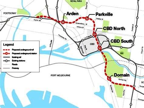 citylink nsw melbourne metro authority to develop cross city link