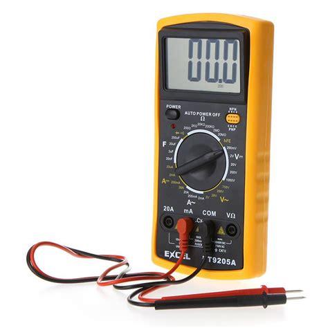Avo Multimeter dt9025a ac dc digital avometer professional electric