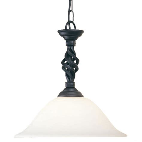 Black Pendant Lights Elstead Lighting Pembroke Black Pendant Light At Love4lighting