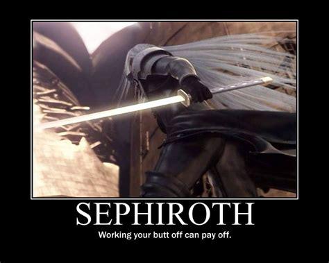 Sephiroth Meme - sephiroth motivational posters sephiroth jpg tattoo