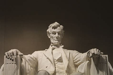 statue of abraham lincoln the lincoln memorial in washington dc beautiful flower