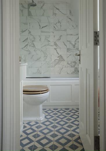 patterned tile bathroom diamond pattern floor design ideas