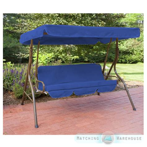 canopy swing cover replacement 3 seater swing seat canopy cover and cushions