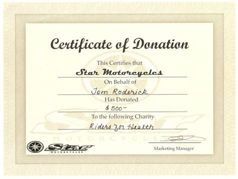 donation certificate templates donation certificate template certificate templates