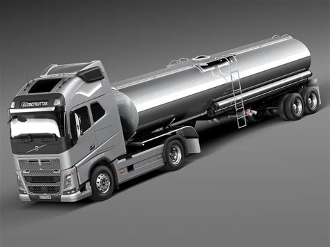 volvo truck latest model 3d model 2013 2015 truck semi