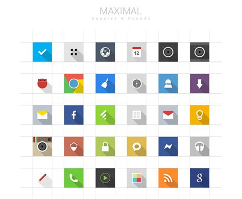 free icons for android 30 free and high quality android icon sets pixelpush design