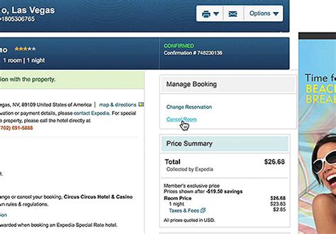 how to cancel a room on expedia how to change or cancel your hotel bookings in expedia
