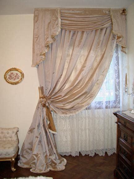 tende da letto classica tende da letto classica seta broccato pizzo