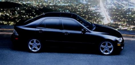 old lexus black welcom