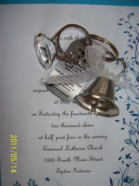 wedding bell send tb18vec travel bug tag wedding rings and wedding bells