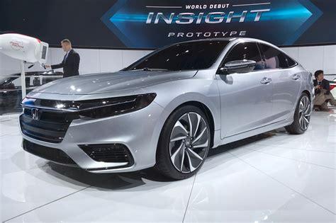 honda 2018 new car new honda insight sleek hybrid prototype s specs detailed