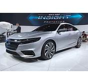 New Honda Insight Sleek Hybrid Prototypes Specs Detailed