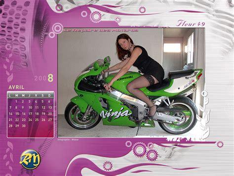 Calendrier Avril 2008 Le Calendrier 2008 Du Repaire Des Motards