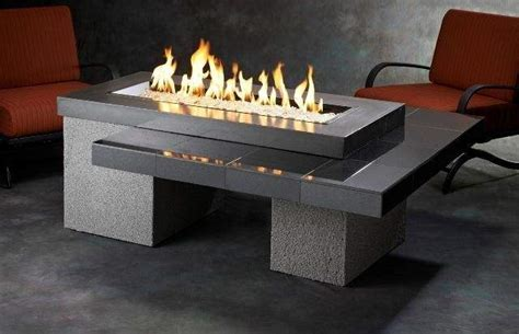 Outdoor Gas Pit Table by Outdoor Greatroom Uptown Chat Height Black Gas Pit Table With 42x12 Inch Bu Ebay