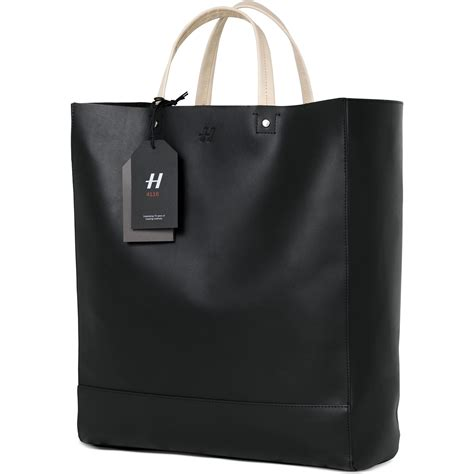H Tote Bag hasselblad sandqvist tote bag black leather h 3054771 b h