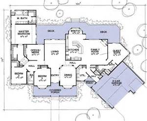 House Plan With Guest House Flexible House Plan With Guest Suite