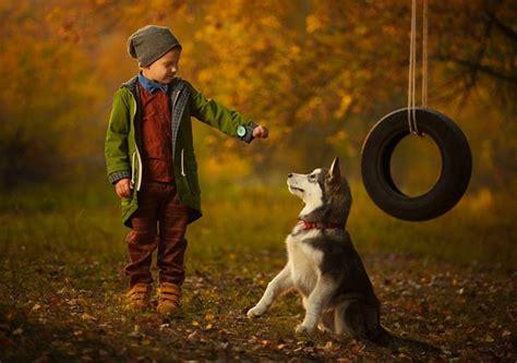 imagenes de niños jugando con un perro las 24 fotos m 225 s adorables de internet de perros en