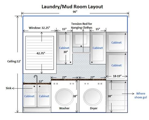 mudroom and laundry room layouts laundry room design layout this is our laundry mud room