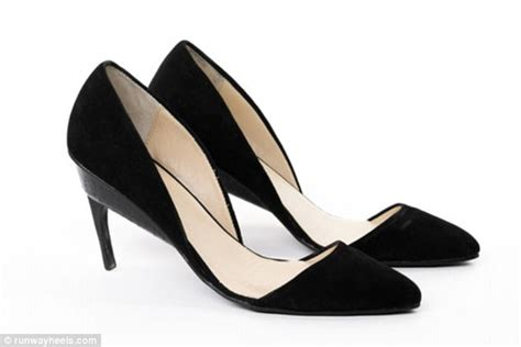 chagne flat shoes runway heels can be transformed from heels into flats