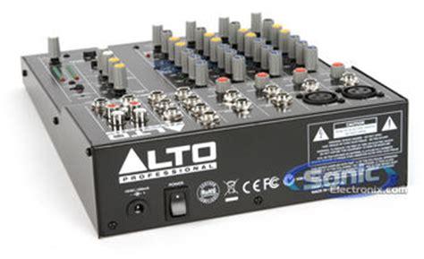 Alto Mixer Live Zmx862 alto professional zephyr zm862 6 channel compact mixer