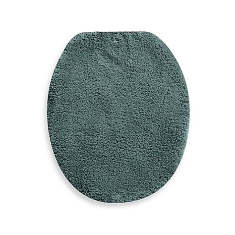 bathroom toilet lid covers wamsutta 174 perfect soft elongated toilet lid cover bed bath beyond