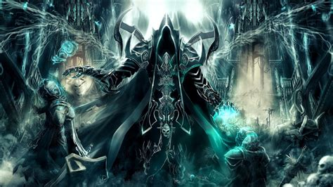 wallpaper art, diablo iii, reaper of souls, malthael HD