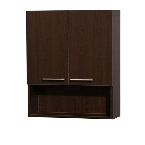 bathroom wall cabinet espresso indigofurniture