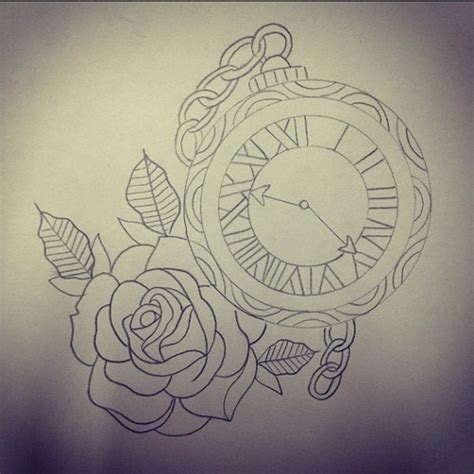 clock tattoo designs tumblr clock pictures to pin on tattooskid