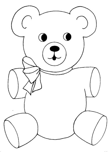 bears colors free printable teddy coloring pages for