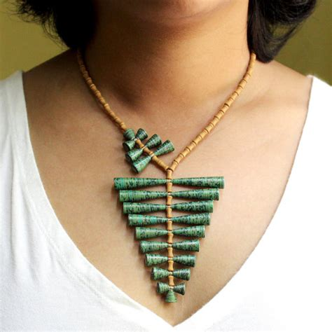 How To Make Jewellery Designs On Paper - papermelon eco friendly paper and cardboard jewelry