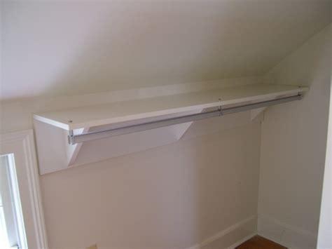 Professional Organizing Closet With Sloped Ceiling Sloped Ceiling Closet