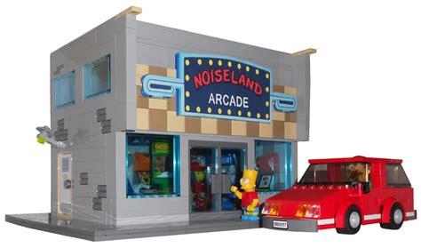 LEGO Ideas   The Simpsons Noise Land Video Arcade