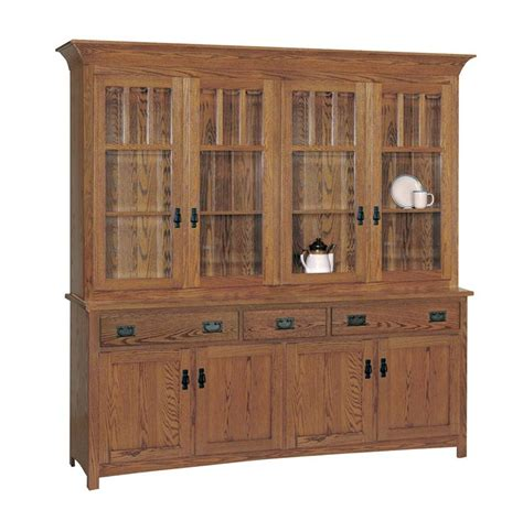 mission style keystone hutch dutchcrafters amish furniture amish four door hutch dutchcrafters furniture
