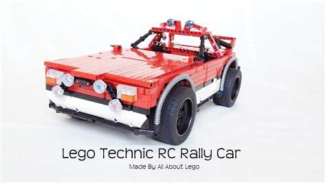 Lego Rally Car lego technic rc rally car