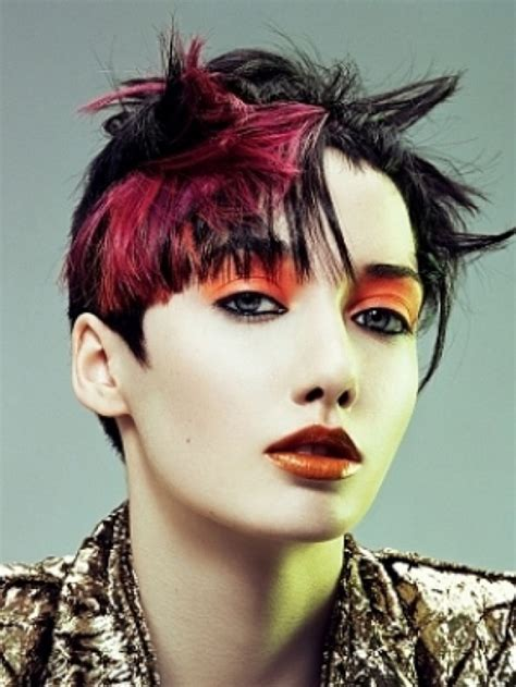 punk hairstyles color short punk hairstyles for women 2013 cool and simple punk