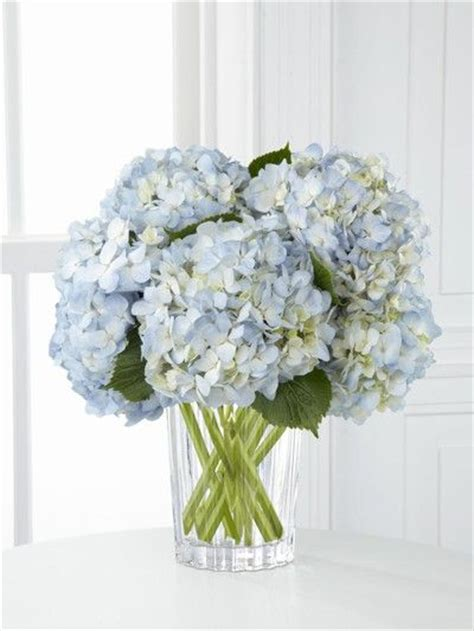 blue hydrangea flower arrangements blue white and yellow flower arrangements blue