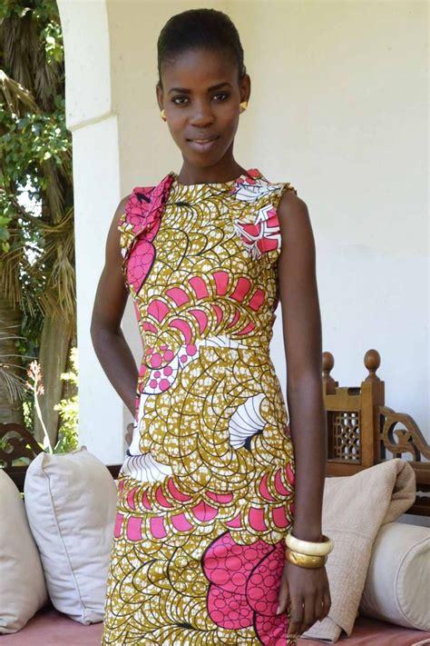 fashion design kenya paulina dress kitenge africa dress africanfashion