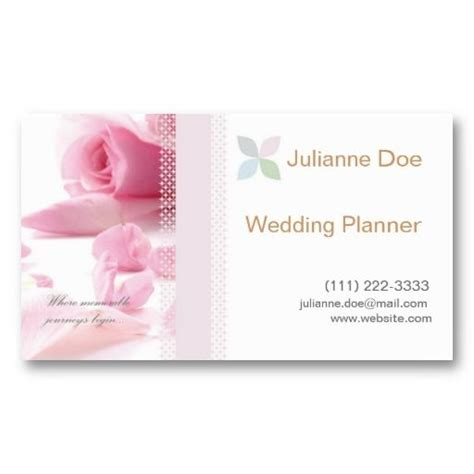 sold wedding planner personal card business card