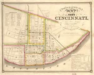 Cincinnati Ohio Map by File Cincinnati Map 1841 Jpg Wikimedia Commons