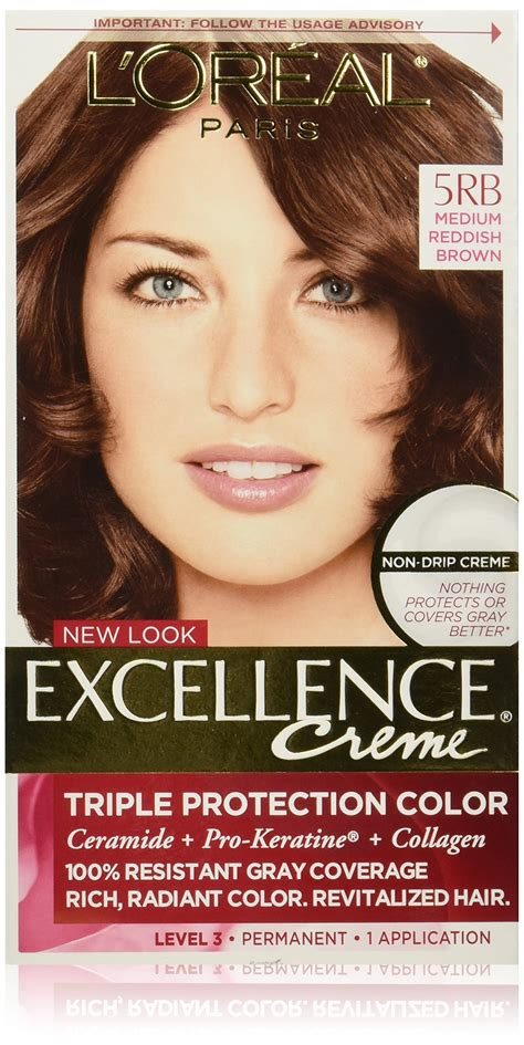 medium reddish brown hair color l oreal couleur experte express hair