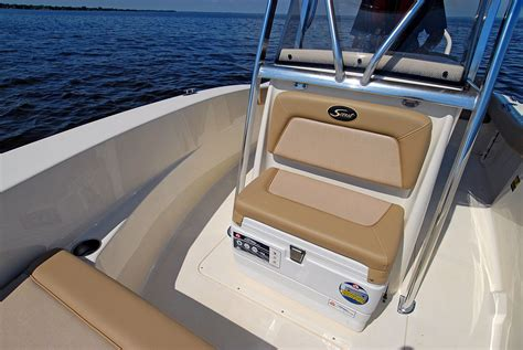 scout 195 sportfish review boat - Scout Boats Seats