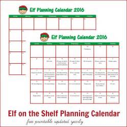 on the shelf planning calendar the resourceful