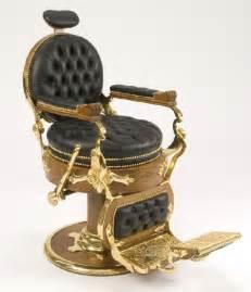 chaises de barbier antique