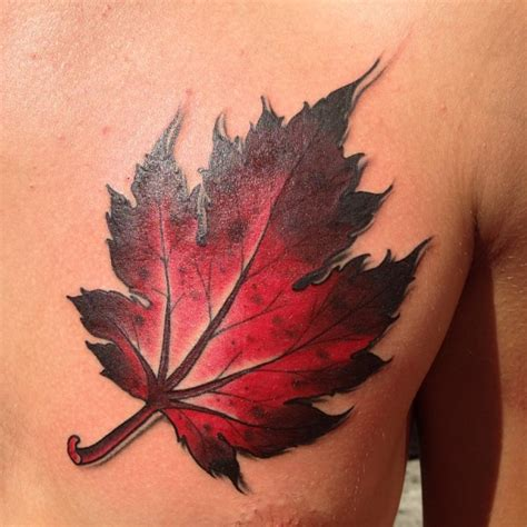 leaves tattoo leaf tattoos page 7